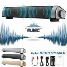 Bluetooth Soundbar Tv Home Speaker System Wireless Subwoofer 3D Surround Sound