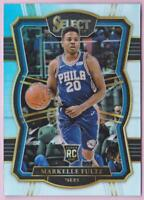 MARKELLE FULTZ RC 2017-18 SELECT PREMIER LEVEL SILVER PRIZM #195 ROOKIE 76ERS