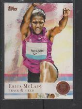 ERICA MCLAIN - 2012 OLYMPICS TRACK&FIELD - BRONZE MEDAL -  TOPPS #95