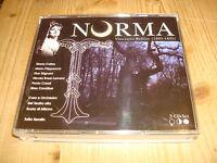 Bellini Norma MARIA CALLAS TULLIO SERAFIN rec.1954 MEMBRAN 3 CD BOX NM Like New