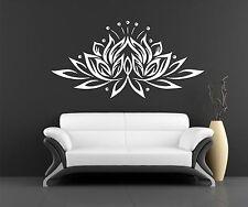 Lotus Wall Decal Vinyl Sticker Decals Art Decor wall decal Eye  Buddha yoga