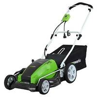 GreenWorks 120 volts Electric Lawn Mower- 13 Amp, 16-Inch