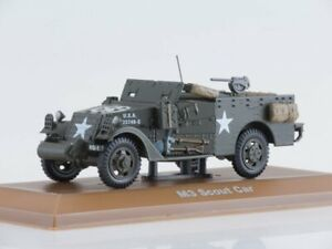 """Scale model armored 1:43 M3А1 """"Scout Car"""" 1944"""