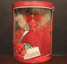 Special Edition 1988 Happy Holidays Barbie Doll First Release in the Series 1703