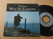 """DISQUE 45T DE  STING  """" WE'LL BE TOGETHER """""""