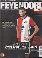 Programme / Magazine Feyenoord Rotterdam 10e jaargang no.4 November 2016