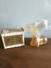 Avon Precious Doe Decanter Field Flowers Cologne .5 Fl. Oz. Nib.