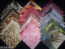 12x12 Scrapbook Paper Fashionista Colorbok 25 Lot Girly Diva Designer Glamorous