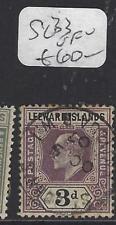 LEEWARD ISLANDS (P1610B)  KE  3D   SG 33   VFU