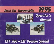 1995 ARCTIC CAT SNOWMOBILE  EXT 580-EXT POWDER SPECIAL OPERATOR'S MANUAL (780)