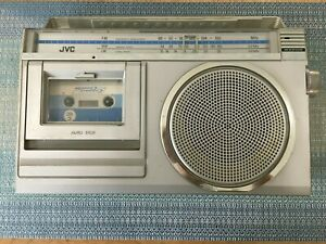Vintage JVC RC-250LB Radio And Cassette Player - In Working Condition