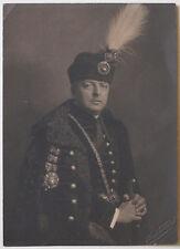 Großes Original 1915 ungarischer Adeliger, Husar, Clemens H. KOSEL, mit Stempel