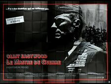 LE MAITRE DE GUERRE Affiche Cinéma GEANTE 4x3 WIDE Movie Poster CLINT EASTWOOD
