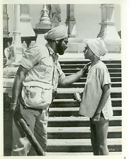 JAY NORTH IN INDIA TALKS WITH INDIAN MAYA ORIGINAL 1967 NBC TV PHOTO