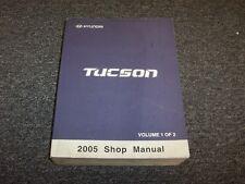 2005 Hyundai Tucson Shop Service Repair Manual Book Vol1 GL GLS LX 2.0L 2.7L