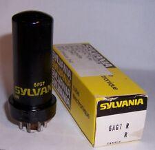 1 NEW IN BOX SYLVANIA 6AG7 POWER PENTODE TUBE / VALVE
