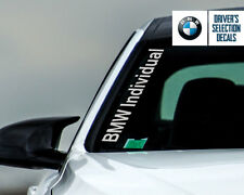BMW Individual Side Windshield Decal windows sticker graphic