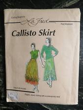 La Fred Bloebaum Callisto Skirt Pattern # 114 Sizes 6-26 Uncut Gypsy Boho