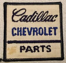 Vintage Cadillac Chevrolet Parts Patch