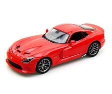 1/18 Maisto 2013 Dodge SRT Viper GTS Red Diecast Model Car Red 31128