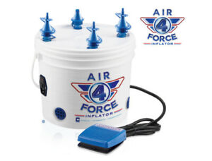 BALLOON PUMP CONWIN AIR FORCE 4 INFLATOR PERFECT FOR ALL BALLOONS WITH PEDAL