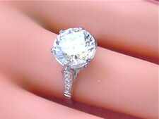 LOOSE 10.5 mm ROUND BRILLIANT CUBIC ZIRCONIA CZ HIGHEST QUALITY D FLAWLESS