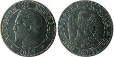NAPOLÉON III  ,  5  CENTIMES  TÊTE  NUE   1853  MA  MARSEILLE
