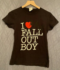 VINTAGE I Love to Hate FALL OUT BOY Shirt Small. Pete Wentz Patrick Stump