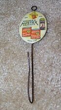 """1910 Celluloid advertising hook """"ASK FOR Walker's Austex MEXICAN FOOD PRODUCTS"""