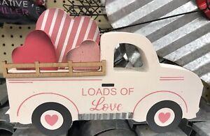 Valentines Day Truck Decor