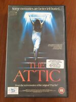 The Attic (1980) VHS Big Box Ex Rental - Castle Home Video - CBS