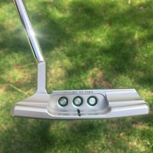 "Scotty Cameron Special Select Newport 2.5 Putter 34""/353g Emerald Green Paint"