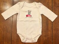 Baby Gap Girls Long Sleeve Bodysuit - SIZE 0-3 MONTHS