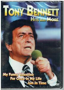 TONY BENNETT HITS AND MORE 17 SONG DVD - FREE POST IN UK