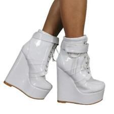 Fashion Women's Super Sexy Platform Nightclub Wedge High Heel Ankle Boots Club L