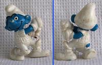 Figurine Schtroumpf CRICKET - 1980 PEYO SCHLEICH (s) W Germany smurf