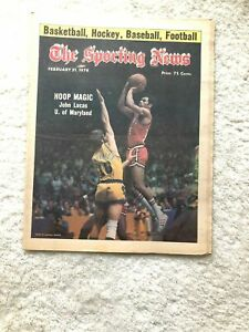 Sporting News John Lucas Maryland 1976 Billy Martin New York Yankees
