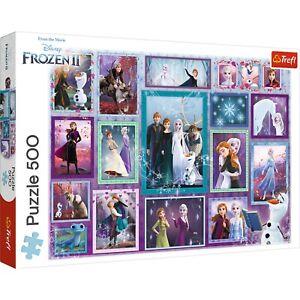 Trefl 500 Piece Adult Large Kids Disney Frozen 2 Collage Floor Jigsaw Puzzle NEW