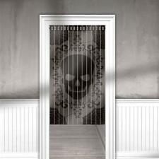 Halloween Skull & Lace Door Curtain Hanging Decoration