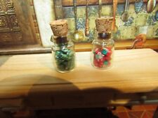 DOLLHOUSE MINIATURE CANDY CITRUS/FRUIT JARS #3 - OOAK