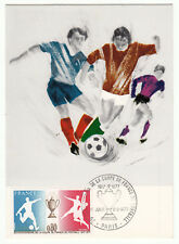 CARTE MAXIMUM FDC 1977  TIMBRE N° 1940 COUPE DE FRANCE DE FOOTBALL