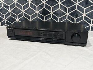 Sony ST-JX401 Quartz Lock Digital AM/FM stereo radio tuner - tested and working