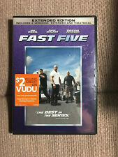 Fast Five (DVD, 2011, Rated/Unrated)