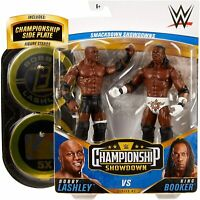WWE Mattel Bobby Lashley vs. Booker T Championship Showdown Series 2 Figures