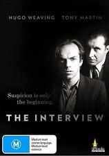 The Interview (DVD) Australian Hugo Weaving Tony Martin [All Regions] NEW/SEALED