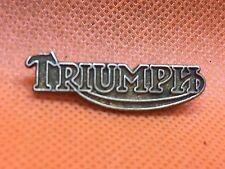 Vintage Original 1950's 60's TRIUMPH Motorcycles Pin