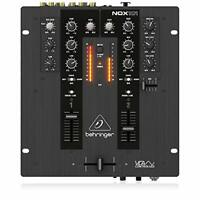 Behringer NOX101 Premium 2 Channel DJ Mixer, Full VCA Control, Pro Sound Quality