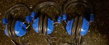 VINTAGE Califone Blue Headset (2924AV) 600 Ohm HEADPHONES Korea Fast Shipping