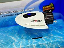 RC Micro SUBMARINE Mini Rc U-Boat HIGH SPEED Radio Control SUBMARINE White