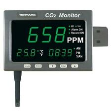 3in1 CO2/Temp/RH Monitor Carbon Dioxide Temperature and Humidity Logger TM-187
